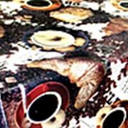 Клеенка столовая Верона ПВХ на нетканой основе, 1,37*25м, SJ008 фото