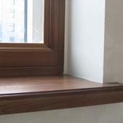 Подоконник деревянный