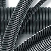 Гофрированные трубы из нераспространяющего горение полиамида фото