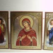 Производим и реализуем церковную продукцию. Изготовление церковной утвари крестики, иконки, складни, бусы и прочее. фото