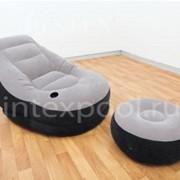 Надувное кресло с пуфиком INTEX 68564 фото