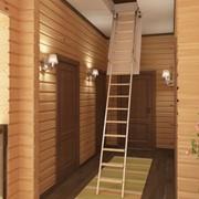Чердачные лестницы и мансардные окна фото