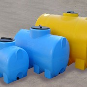 Пластиковые емкости цилиндрические горизонтальные фото