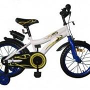 Велосипед двухколёсный Condor - White with Blue BabyHit. фото