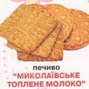 """Сахарное печенье """"Николаевское топлёное молоко"""" фото"""