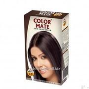 Крем-Краска Color Mate Hair Color Cream - Dark Brown Тёмно-коричневый 60мл+60мл+10мл фото