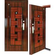 Дверь металлическая усиленная модель 605 фото