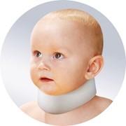 Бандаж шейный (ортопедический воротник) шина Шанца высотой 4см для детей до года ШВН ОРТО фото