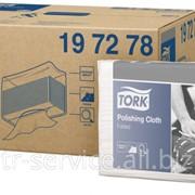 W4 - Tork нетканый материал для полировки в салфетках - 140 л/уп, 1 слой фото