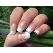 Наращивание коррекция ногтей: гель фото