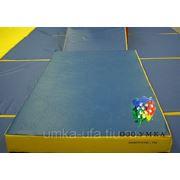 Спортивный гимнастический мат 2м*1м*100 см фото