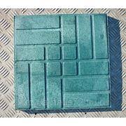 Плитка тротуарная 20mm (Цвет Зеленый) фото