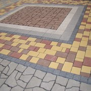 Укладка бетонной тротуарной плитки цена фото