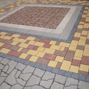 Мощение тротуарной плиткой стоимость работ Пушкино фото
