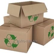 Ящик из прессованного картона 380*253*237 фото