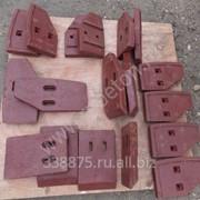 Лопатки бетоносмесителя фото