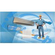 Монтаж систем кондиционированияотопления и вентиляции фото