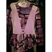 Платье + лосины для фигурного катания фото
