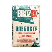 Brozex Г-5, гипс строительный, алебастр,17кг фото