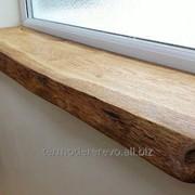 Деревянные подоконники, производство подоконников деревянных фото