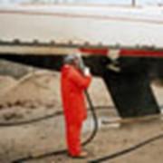 Очистка днища яхт, катеров, гидроциклов фото