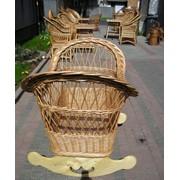Изготовление плетеной мебели. фото