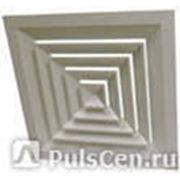 Решетка вентиляционная д/подвесных потолков белая (0,6х0,6) фото