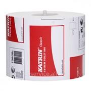 Туалетная бумага Katrin Classic System Toilet 800 - 36 рул/уп, 801 л/рул, 2 слоя фото