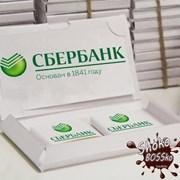 Шоколадный набор Визитка с логотипом фото