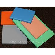 Фиброцементные фасадные плиты с гладкоокрашенной МАТОВОЙ поверхностью фото