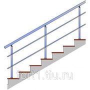Перила для лестниц металлические фото