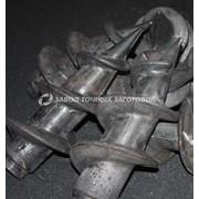 Литые наконечники для винтовых свай для заборных столбов 120/89 фото