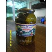 Огурцы маринованные стекло банка (1 литровая)