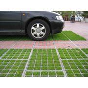 Автомобильные парковки из пресс-бетона фото