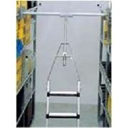 Лестница поворотная для сталлажей для Т-образной шины. 13 ступеней фото