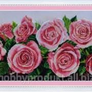 """Набор для вышивания бисером """"Розовое настроение"""" P-214 фото"""