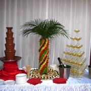 Шоколадный фонтан 80см. Аренда