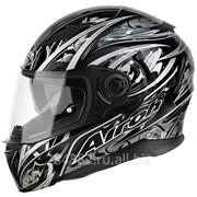 Airoh Шлем интеграл MOVEMENT FLOWERS черный фото