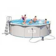 Стальной бассейн Hidrium Pool Set, 460х120см, 17430л (BestWay) фото