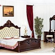 Спальня Меланж (темный орех) (Арида Мебель) фото