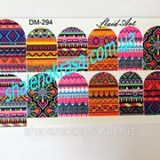 Наклейка на ногти Sliders art DM - 294 фото