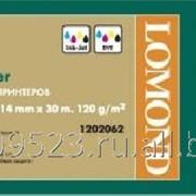 Бумага матовая Lomond 914мм 30м * 50 ролик САПР и ГИС 120г (1202062) фото