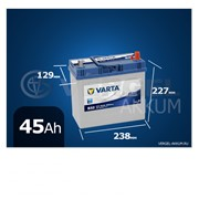 Батарея Varta Blue Dynamic 45Ah B32 обратная полярность фото
