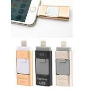 Флеш-накопить i-FlashDrive для iPhone/Ipad 16 гб черный фото