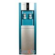 Напольный кулер с холодильником LESOTO 16 L-B/E blue-silver фото