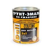 Гладкие грунт-эмали по ржавчине 3 в 1 DALI 2 литра фото