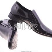 Туфли мужские из искусственной кожи фото