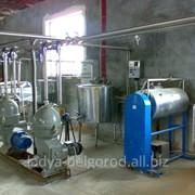 Цеха по переработке молока от 500 литров в сутки ( смену) до 30 тонн переработки в сутки фото
