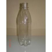 ПЭТ бутылка прозр, 0,5 л с крышкой фото
