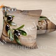 Оливковое дерево арт.ТФП2364 (45х45-1шт) фотоподушка (подушка Габардин ТФП)